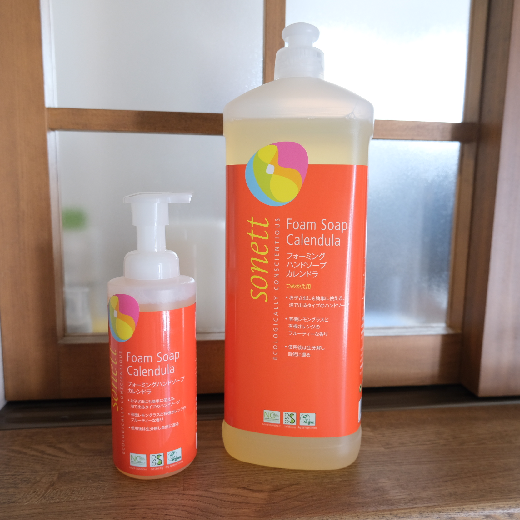 SONETT フォーミングハンドソープ カレンドラ さわやかな柑橘系の香り(手洗い用泡洗浄料)